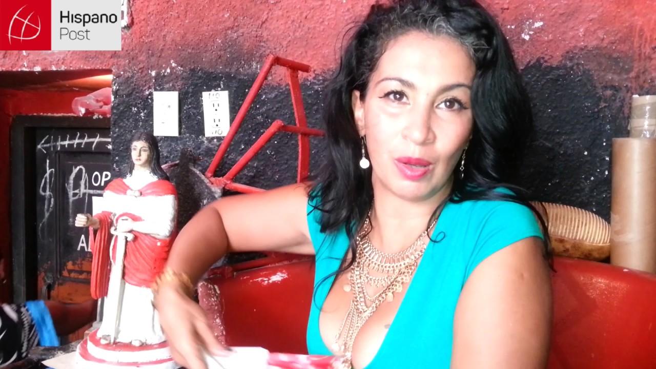 Cultura y religión se dan la mano en el callejón de Hamel en La Habana