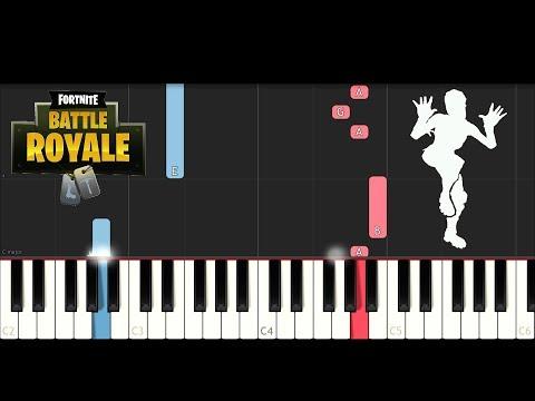 Fortnite Dance Zany Piano Tutorial Dario Daversa Video