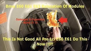 Bmw E60 E61 Relocation Of Modules In Boot Mpm Location Must Watch !!!!! Do This Before This Happens