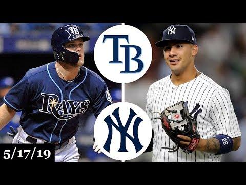 Tampa Bay Rays vs New York Yankees - Full Game Highlights | May 17, 2019 | 2019 MLB Season