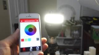 MIPOW E26 Bluetooth Smart LED Light Bulb REVIEW