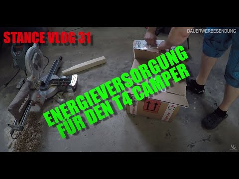 Energieversorgung im T4 Ective SSI102 + Gel Batterien - F3 Stance Vlog 31
