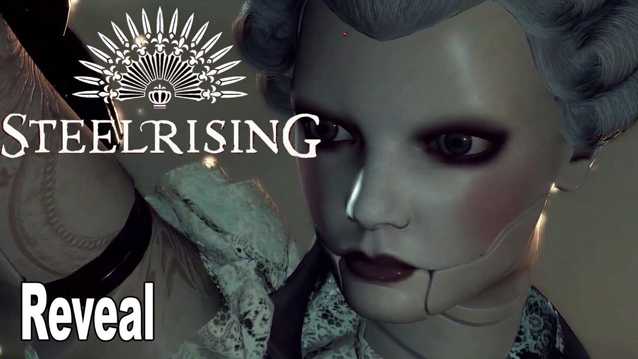 Анонсирующий трейлер игры Steelrising