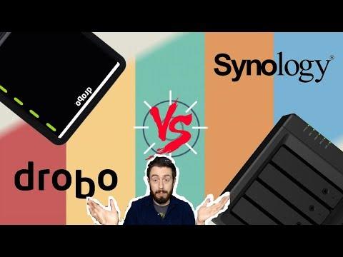 Synology Vs Drobo NAS 2019