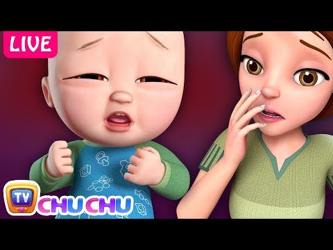 Baby is Sick Song + Many more Nursery Rhymes & Kids Songs by ChuChu TV - Live Stream