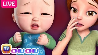 Baby Is Sick Song + Many More Nursery Rhymes & Kids Songs By ChuChu TV   Live Stream