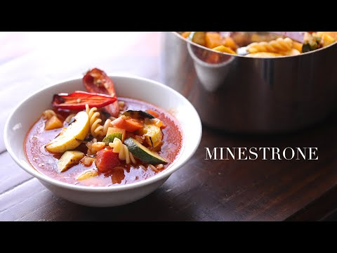 "Minestrone (using ""flawed"" vegetables)"