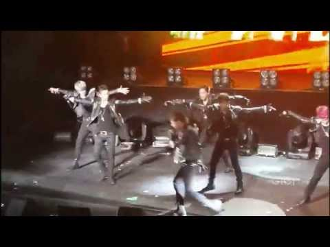 B.A.P - Punch (Mirrored Dance Fancams)