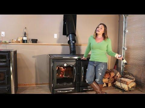 La Nordica America Cookstove - First Hot Burn - Stove Top and Oven Temperature Readings