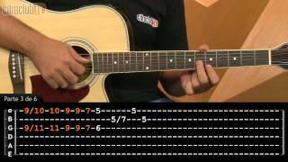 Medo da Chuva - Raul Seixas (aula de violão completa)