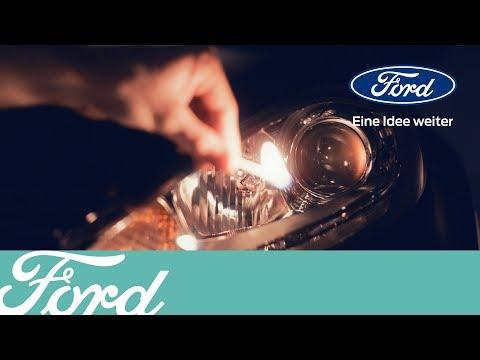 So wechseln Sie die Scheinwerferbirne   Ford Deutschland