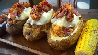 Loaded Baked Potatoes | La Capital