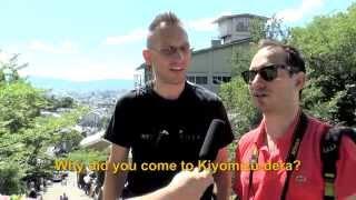 Travelers' Voice of Kyoto: KIYOMIZU DERA Area Interview010