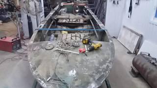 Все о ремонт алюминиевых лодок киев