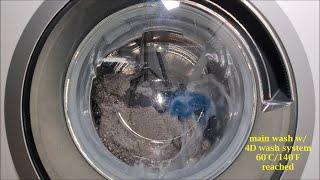 Bosch Serie | 8 4D Wash System WAX32M00  - Allergy Plus 60°C/140°F