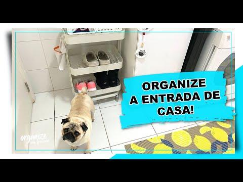 COMO ORGANIZAR A ENTRADA DE CASA - IDEIAS SIMPLES E FUNCIONAIS