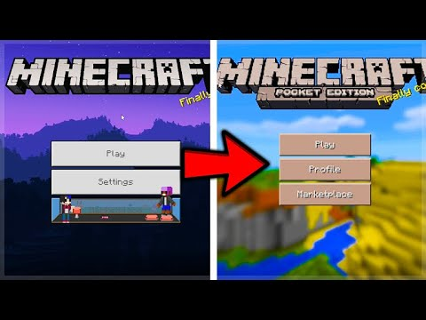 How To Turn Your MCPE Into OLD Minecraft Pocket Edition From 2015