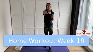 Home workout week 19