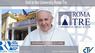 2017.02.17 Visit to the University Roma Tre