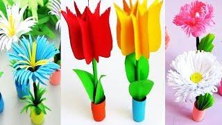 How To Make 3d Flower Pot Viveos