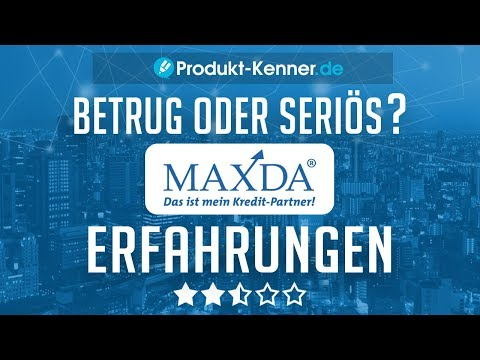 [FAZIT] MAXDA Erfahrungen + Review | Kredit ohne Schufa im Test! Abzocke?