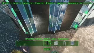 Settlement building methods using console command