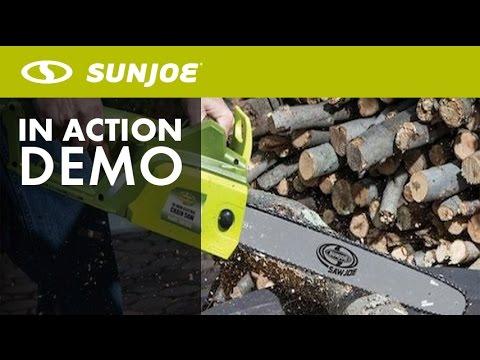 "Sun Joe 18"" Electric Chain Saw SWJ701E"