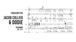 #IHarmU Jacob Collier ft. Dodie (Transcription)