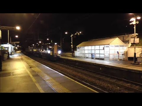 ScotRail Class 385 unit (385102) testing on the Edinburgh & …