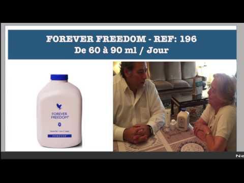 TEMOIGNAGE  PULPE FREEDOM DE FOREVER LIVING