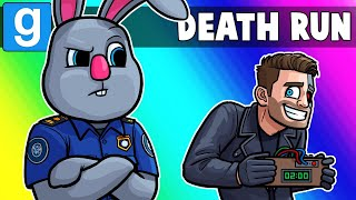 Gmod Death Run Funny Moments - Going Through Airport Security! (Garry