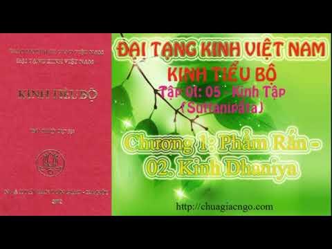 Kinh Tiểu Bộ - 059. Kinh Tập - Chương 1: Phẩm Rắn - 02. Kinh Dhaniya