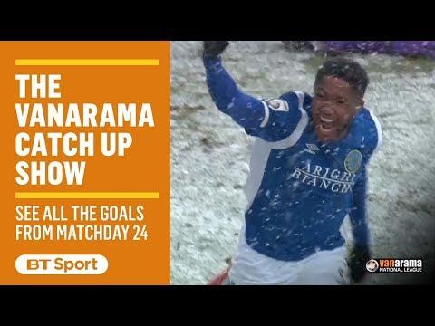 Vanarama National League Highlights Show | Matchday 24