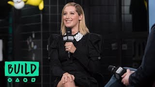 "Ashley Tisdale Discusses Her New Single, ""Voices In My Head"""