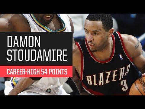 Throwback: Damon Stoudamire's Career-High 54 Points vs. New Orleans