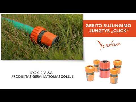 Ühendus 1/2'' kiireks voolikuga ühendamiseks, plastikust, Vertas hind ja info   Kastekannud, voolikud, niisutus   kaup24.ee