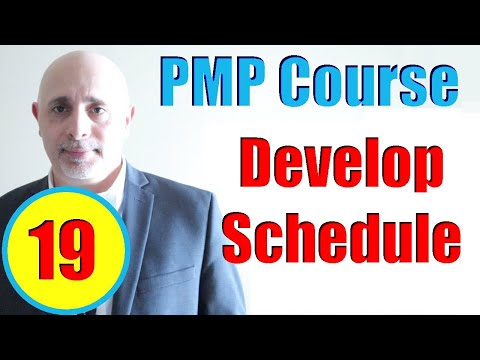 Develop Schedule Process | PMP Exam Prep Training Videos ...