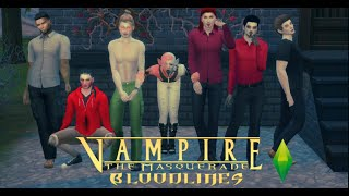 [Create A Sims: Sims 4] Vampire: The Masquerade- Bloodline (7 Clan) Male
