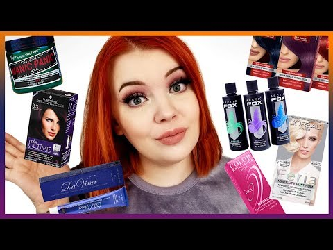 Best & Worst Hair Dyes: Drugstore, Sally's, & Hot Topic