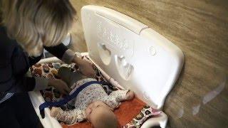 Przewijak ścienny dla dzieci i niemowląt Faneco