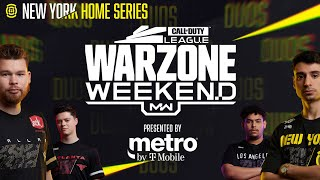 ALL OUT DUOS WAR — PRO WARZONE CUSTOM LOBBY | Warzone Weekend #4 | New York Subliners Home Series