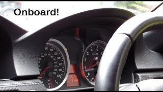 BMW M3 E93 Cabriolet - Ride, Accelerations, Downshifts!