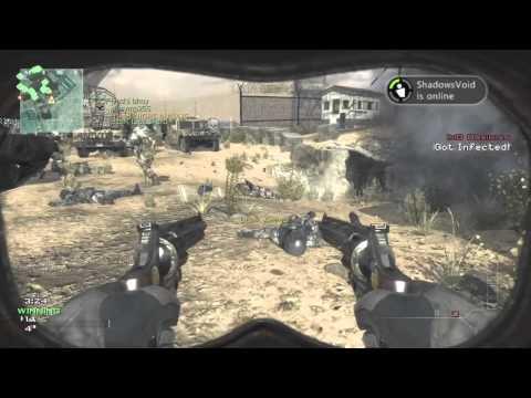 Mw3 infected gameplay striker vs juggernaut - смотреть