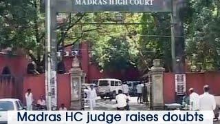 Madras HC Judge Raises Doubts Over Jayalalithaas Death  ANI News