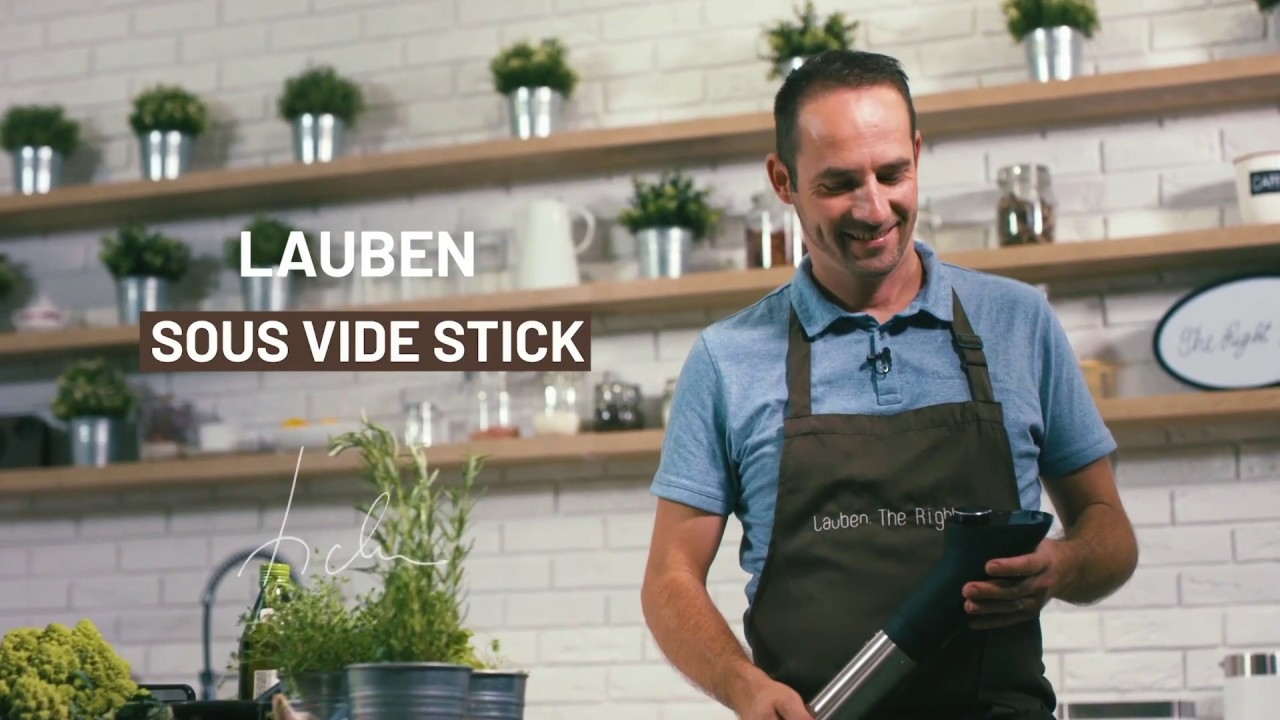 Video - Cook at home like in a Michelin restaurant
