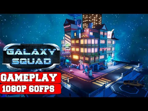 Galaxy Squad Gameplay (PC)