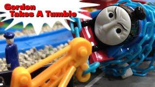 """トーマス プラレール ガチャガチャ すべったゴードン Tomy Plarail Thomas """"Gordon Takes A Tumble"""""""