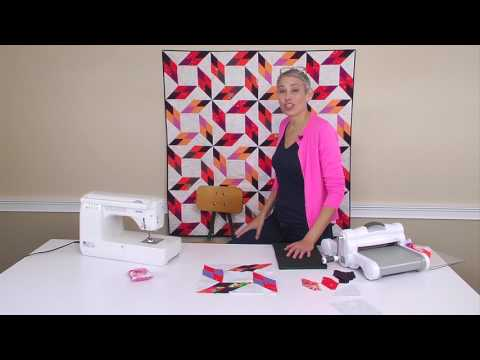 SNEAK PEEK! Sizzix Quilting: Diamond Point with Victoria Findlay Wolfe