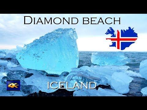 Visiting Diamond Beach in Iceland