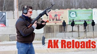 How To Reload An AK47 AK74 AK Style Rifle